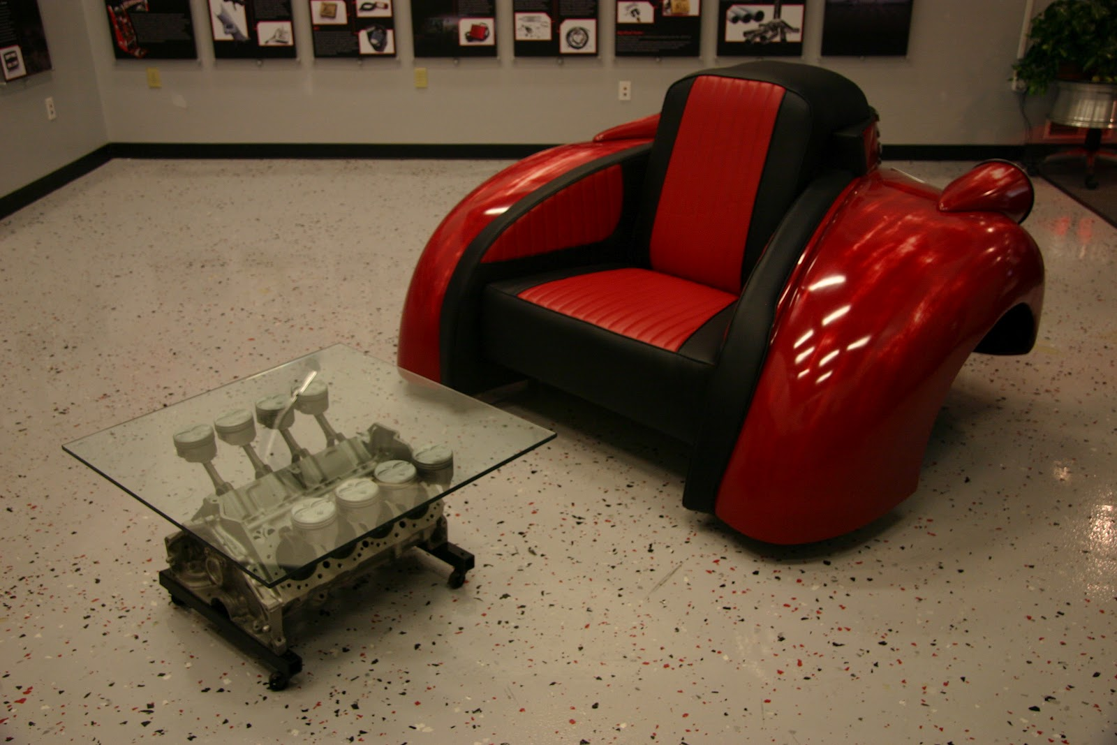 Recycling Car Parts For Create Furniture Street Racing